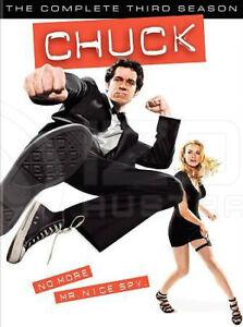 Chuck: The Complete Third 3rd Season DVD NEW