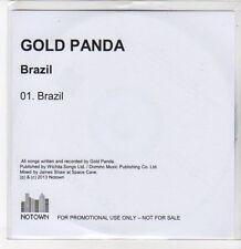 (DQ870) Brazil, Gold Panda - 2013 DJ CD