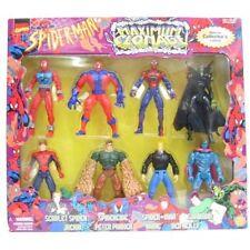 Spider-man Maximum Clonage Collector Set By Toy Biz New Sealed