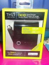ENERGI TRAVEL CHARGER WITH BUILT IN BATTERY FOR IPHONE/IPOD NEW IN PACKAGE