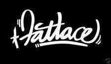 fatlace  sticker decal vinyl  illmotion JDM import tuner
