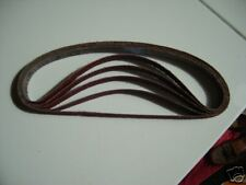 """TRIZACT SUPERPOLISHING BELT 25mm x 762mm(1""""x30"""")A45,A30,A16,A6,one of each."""