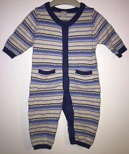 Boys Age 0-3 Months - TU Sainsbury's Fine Knit Romper