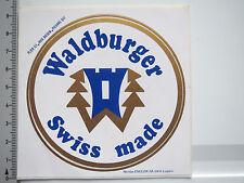 Aufkleber Sticker Waldburger Swiss Made - Schach - Holzfiguren (5356)