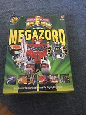 1993 Bandai 2260 Power Rangers Deluxe Set Megazord Action Figure Used