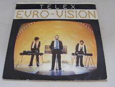 "TELEX Eurovision   Sire 1980 UK P/S 7"""