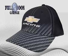 NEW Chevrolet Carbon Fiber Fade Chevy Flex Fit Mens Vintage Cap Hat
