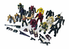 Halo Mega Bloks Large Minifigures Bundle UNSC Marines, Covenant & Flood