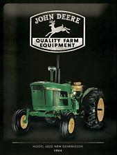 Blechschild 30 X 40 Cm - John Deere Quality Farm Equipment