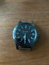 Bulova Hack Men's 38mm Watch military automatic