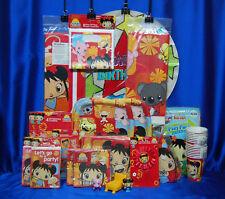 Ni Hao Kai-Lan Party Set # 29 Cups Plates Napkins Tablecover Invites/Thanks +++