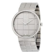 Dior La D De Dior Silver Dial Stainless Steel Ladies Watch CD043113M001