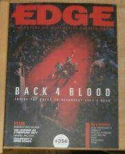 Edge magazine #356 Apr2021 Back 4 Blood + Resident Evil Village Cyberpunk 2077