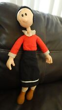 OLIVE OYL Oil Doll 1985 Presents King Features 20 Inch Popeye Free Ship