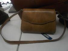 Borsa PULICATI pelle tracolla removibile VINTAGE nuova da negozio-Leather bag