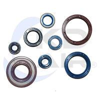Zylinderfussdichtung Dichtung 0,5 mm passend für Husqvarna 125 WRE SM SMS CR WR