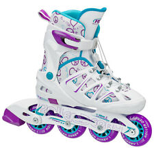 RD Stinger 5.2 Adjustable Inline Skates/Rollerblades Girls/Kids US2-5 - Purple