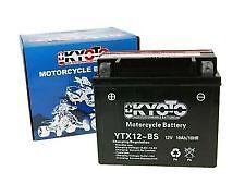 KAWASAKI ER6 ER6F ER6N ER650 06-13 MOTOR CYCLE BATTERY YTX12BS