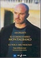 IL Commissario Montalbano La Voce del Violino DVD Nuovo Zingaretti Camilleri N