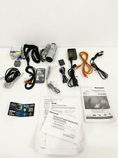 Panasonic Camcorder Pv-Gs250 w/ Accessories - Tested Working