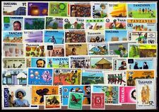 Tanzania 50 Different Mint Thematic Mostly Large Stamps