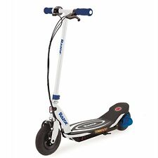 Razor Power Core E100 Electric Hub Motor Kids Toy Motorized Scooter, Blue