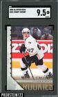 2005-06 Upper Deck Young Guns #201 Sidney Crosby Penguins RC Rookie SGC 9.5