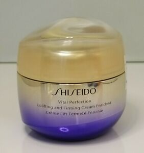 Shiseido Vital Perfection Uplifting and Firming Cream Enriched 2.6oz/75ml Total