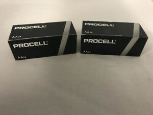 48 New AA Procell Alkaline Batteries by Duracell PC1500 EXP 2026 or Later