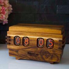 Volta Vintage Nixie Tube Clock - Retro IN-12 Nixie Tubes - Handmade Nixie Clock
