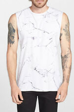Zanerobe Leibgarde Marmor Print Muscle T-Shirt XL NWT