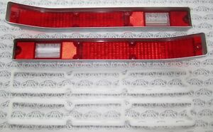 1970 Buick Skylark, GS, GSX Tail Lamp Lenses with Gaskets. OEM #5962139
