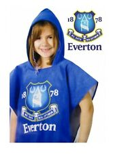 1 Everton Football Club 100% Official Hooded Towel Poncho Swimming Holiday