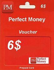 🔥🔥🔥 $6 e-perfect money PERFECT MONEY e-voucher NAJTANIEJ