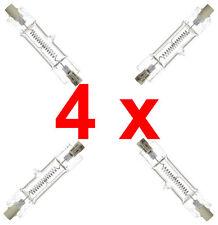 "4 X ""Rossa Lampada Luce DXX LAMPADINA GE 240 V 800 W LAP213"