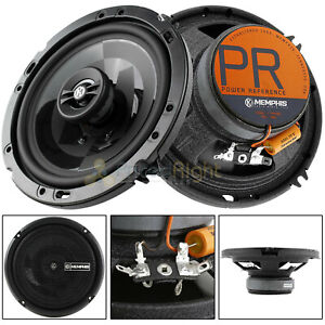 """Memphis Audio 6.5"""" 2 Way Coaxial Speaker 100 Watts Max Power Reference PRX602"""