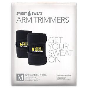 Sweet Sweat Arm Trimmers, Unisex-Regular, Yellow, 1 Pair