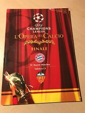 Offizielles Programmheft Magazin Finale CL 2001 FC Bayern München Valencia CF H2