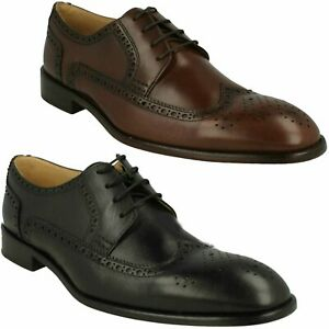 GIORGIO ANATOMIC & CO MENS LACE UP LEATHER BROGUES SMART WEDDING SHOES SIZE