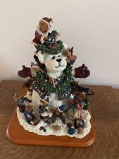 The Boyds Bears Snow Bear Danbury Big 12� Figurine Lights Up