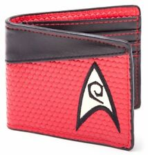Star Trek Bi-Fold Red Engineering Logo Wallet - A great gift for the Trekkie!