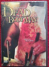 DEAD BODY MAN - DVD Super Rare Brain Damage Films HORROR OOP Indy Slasher Gore