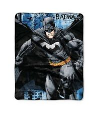New BATMAN Silk Touch Throw 40X50 ~ Collector Series ~ Soft And Cuddly
