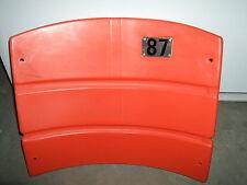 Candlestick Park Stadium seat back #87 Dwight Clark  San Francisco 49ers NFL