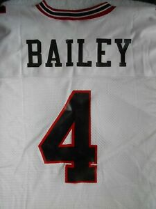 New Georgia Bulldog All American & NFL Hall Of Fame Champ Bailey  #4 Jersey L