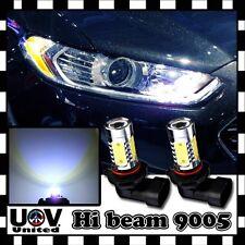 2 x 9005 9145 HB3 9140 White 6K CREE COB LED High Beam DRL Power Light Bulb Lamp