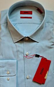 NWT HUGO Red Label By Hugo Boss Sharp Fit Stripe Long Sleeve Dress Shirt