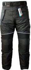 German Wear - Pantaloni da Uomo per Moto Cordura Nero 54 EU