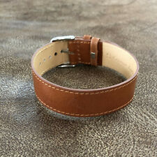 Size 18/20/22mm Cow Leather Fixed Lug Trench Army Watch Wrist Strap Band #153
