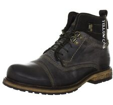 Yellow Cab SOLDIER M Combat Boots Mens Brown Braun (Dk brown) Size: 6.5 UK 40 EU